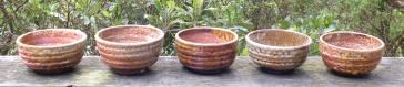 anagama-shino-bowls
