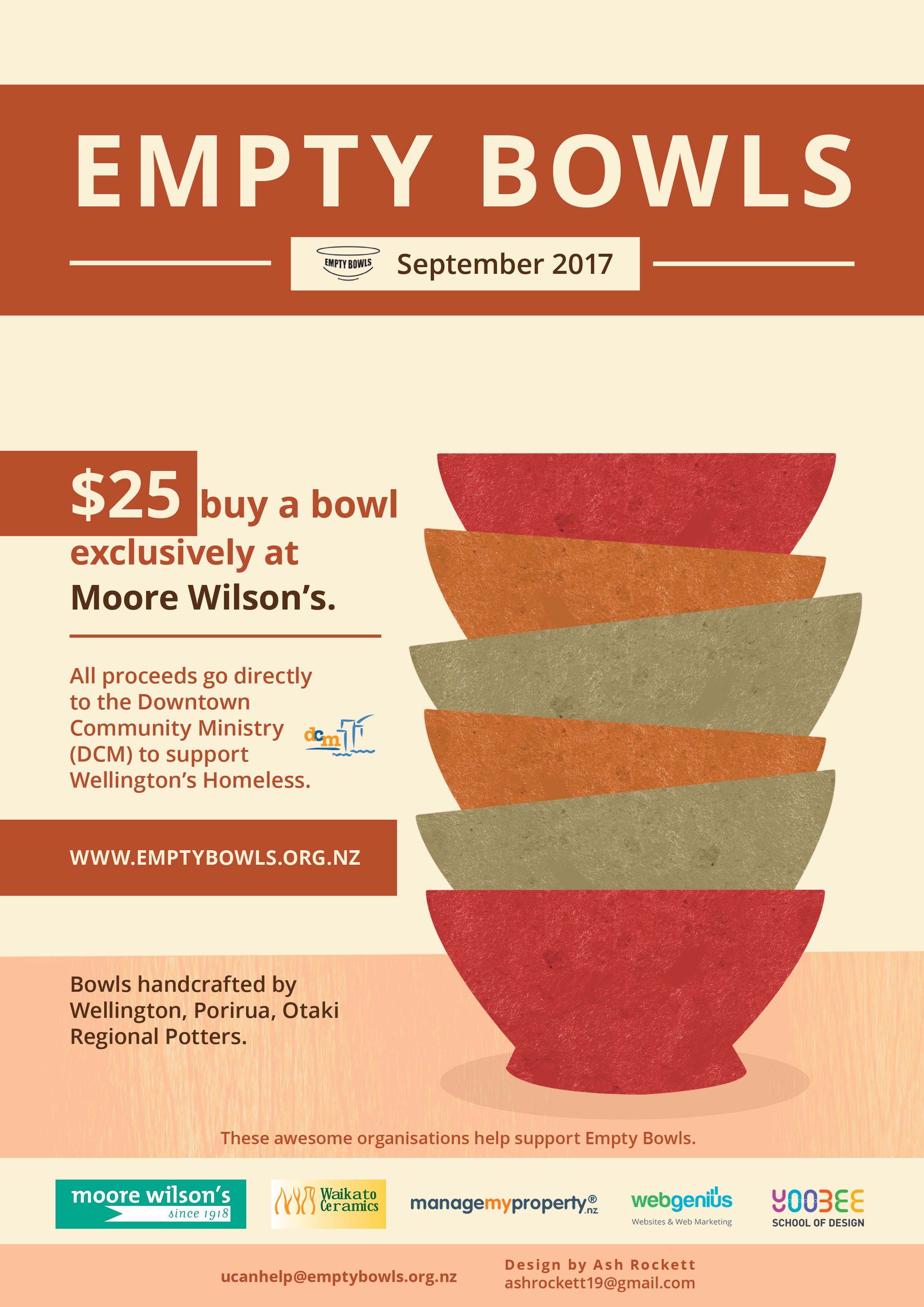 Empty Bowls Poster 2017 draft